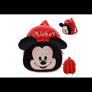 Handbags - Lovely plush backpack/Mickey Mouse